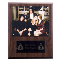 Rock Royalty Photo Plaque