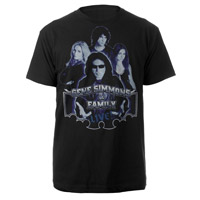 New - Gene Simmons & Family Live Tee