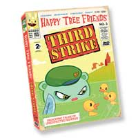 Happy Tree Friends Official Store | Vol. 3 Third Strike :  dvds