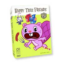 Happy Tree Friends Official Store | TV Series DVD Vol. 1 :  dvds