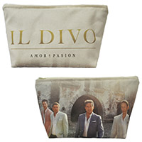 Amor & Pasion Cosmetic Bag