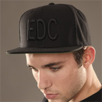 EDC Massiv Hat Black/Black