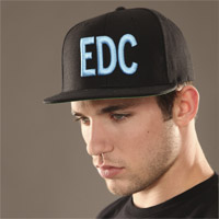 EDC Massiv Hat Black/Teal