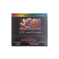 Joseph Cast Recording CD starring Jason Donovan