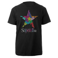 Jesus Christ Superstar Logo Black T-shirt