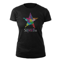 Jesus Christ Superstar Logo Black Babydoll