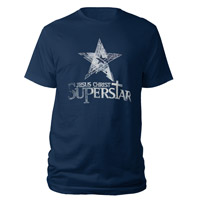 Jesus Christ Superstar Logo Navy T-shirt