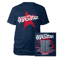Jesus Christ Superstar Graffitti Navy T-shirt