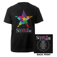 Black JSC Superstar Itinerary T-shirt