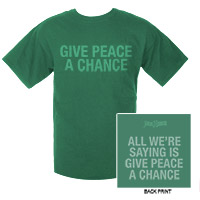 Give Peace A Chance Tee