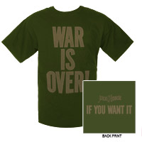 War Is Over! Tee