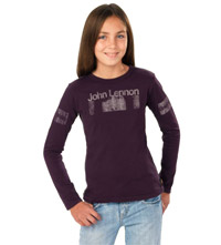 John Lennon Purple Heart Kids Tee