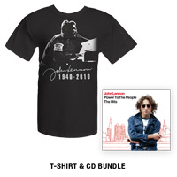 Pre-Order Power To The People: The Hits (CD/DVD) &amp; T-Shirt Bundle*