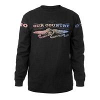 Rainbow Eagle Long-Sleeve T-Shirt