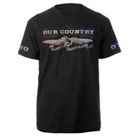 Our Country Rainbow Eagle Tee