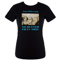 Women's No Better Than This Album Cover Tee
