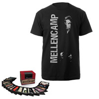 BUNDLE PRE-ORDER: John Mellencamp 1978-2012 Box Set & Men's Tee