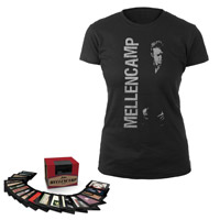 BUNDLE PRE-ORDER: John Mellencamp 1978-2012 Box Set & Women's Tee