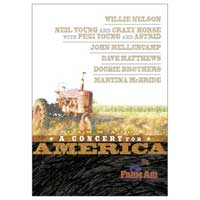 Farm Aid 2001  Concert For America DVD