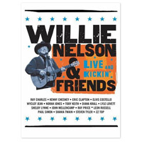 Willie Nelson and Friends - Live & Kickin' DVD