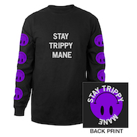 Stay Trippy Smile Long Sleeve Tee