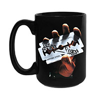 New - Judas Priest British Steel Mug