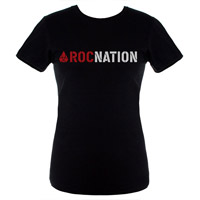 JayZ Black Juniors Rocnation T-Shirt