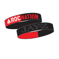 Roc Nation Silicon wristband