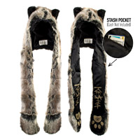 Ke$ha Wolf Spirit Hood