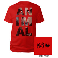 Ke$ha Animal Logo Tee