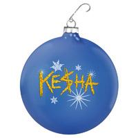 Ke$ha Holiday Ornament
