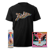Kesha Rainbow CD, Tee, and Candle Edited Version