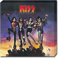 KISS Destroyer Limited Edition Canvas Print