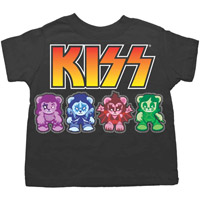 KISS Bears Toddler Tee