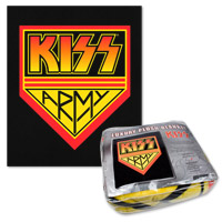 KISS Army Queen Sized Fleece Blanket