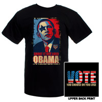 Vote KISS! You Choose Or You Lose Obama Tee