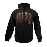 KISS Detroit Rock City '76 Zip Up Hoodie