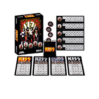 KISS Bingo Board Game