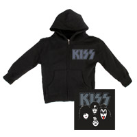 Exclusive - KISS Toddler Zip Up Hoodie