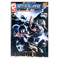 Limited Edition Extra Large Black Bar KISS Destroyer Comic #1