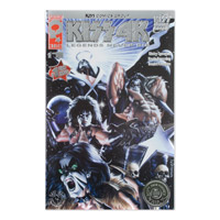 Scotts Vault Silver Foil Edition - KISS 4K Legends Never Die - Issue #1