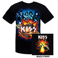 KISS Hottest Show On Earth 2011 Tour Tee