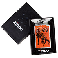 KISS Band Photo Zippo