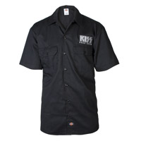 KISS Road Crew Dickies Work Shirt