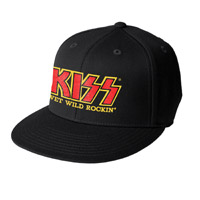 KISS Wet Wild &amp; Rockin' Fitted Hat