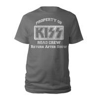 Property Of KISS Road Crew Tee