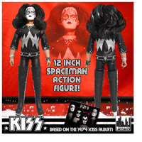 "Collectible ""12 Spaceman Action Figure"