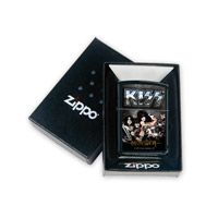 Black Matte KISS Monster Zippo