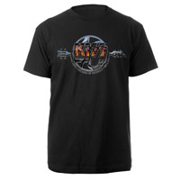 New - KISS 40th Anniversary Tee