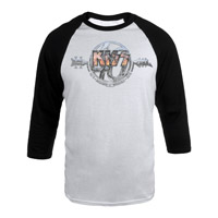 New - KISS 40th Anniversary Jersey Tee